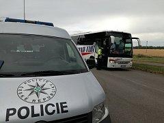 Dopravní policisté zkontrolovali autobusy na jedenácti vybraných místech Jihomoravského kraje.