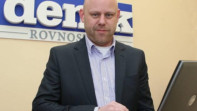 Starosta Brna-střed Libor Šťástka.