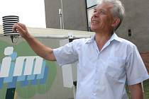 Meteorolog Jaroslav Rožnovský