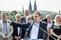 Lídr ODS Petr Fiala.