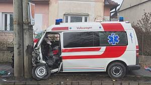 Dopravní nehoda u Vojkovic.