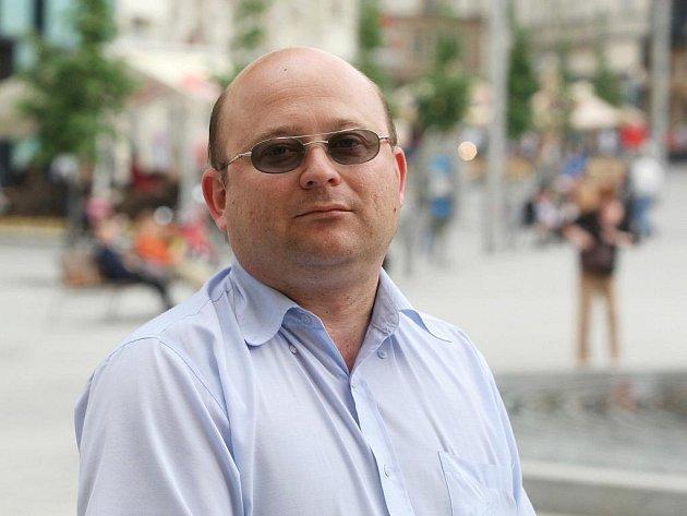Mluvčí občanského sdružení Brno-Jih Pavel Reich.