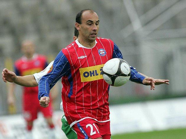 Fotbalové utkání 1. FC Brno s Jabloncem.