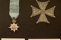 Muzeum v Brně vystavuje Řád zlatého rouna a jiná cenná vyznamenání.