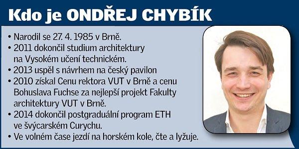 Architekt Ondřej Chybík.