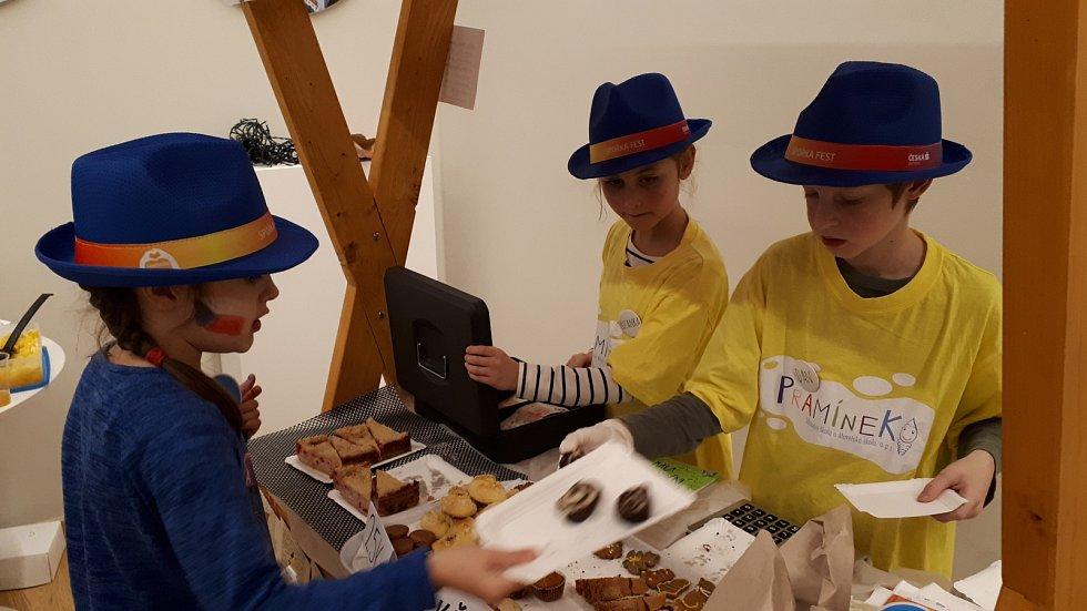 Žáci brněnské Základní školy Pramínek pomohli africkým dětem.