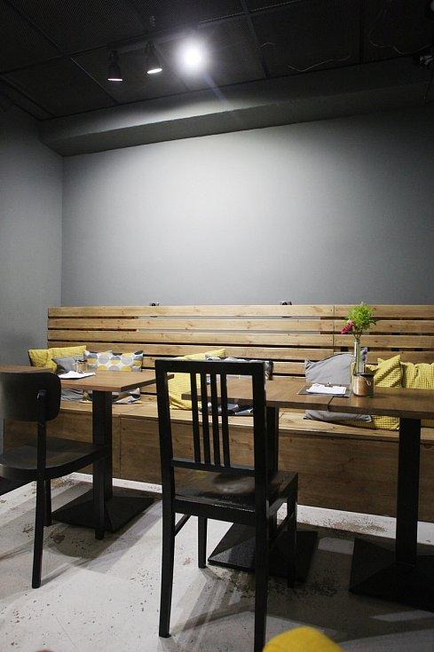 Brněnská kavárna Mymika.