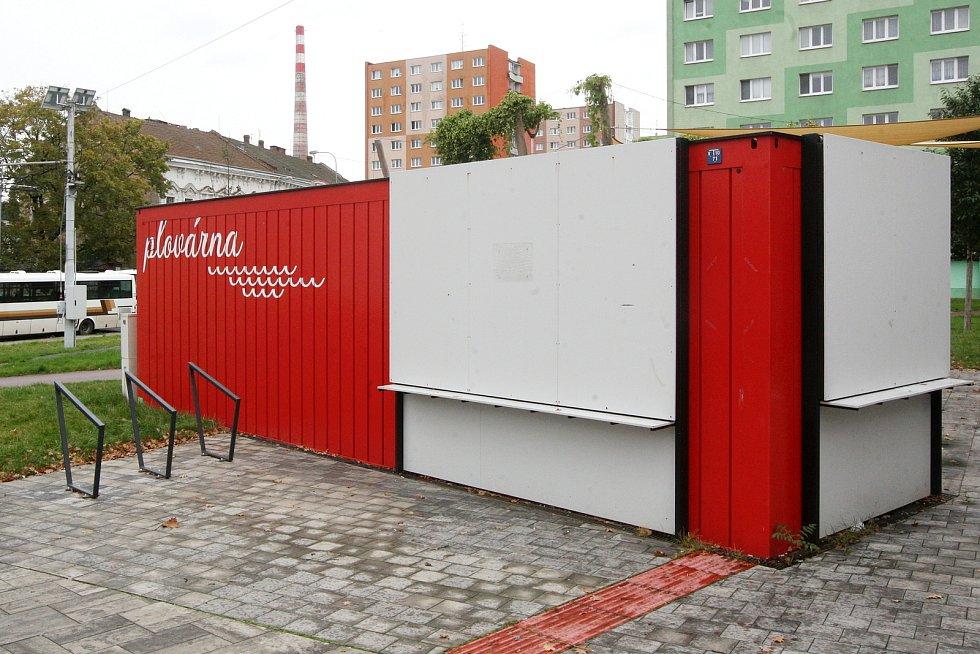 Café Plovárna na Mendlově náměstí v Brně.