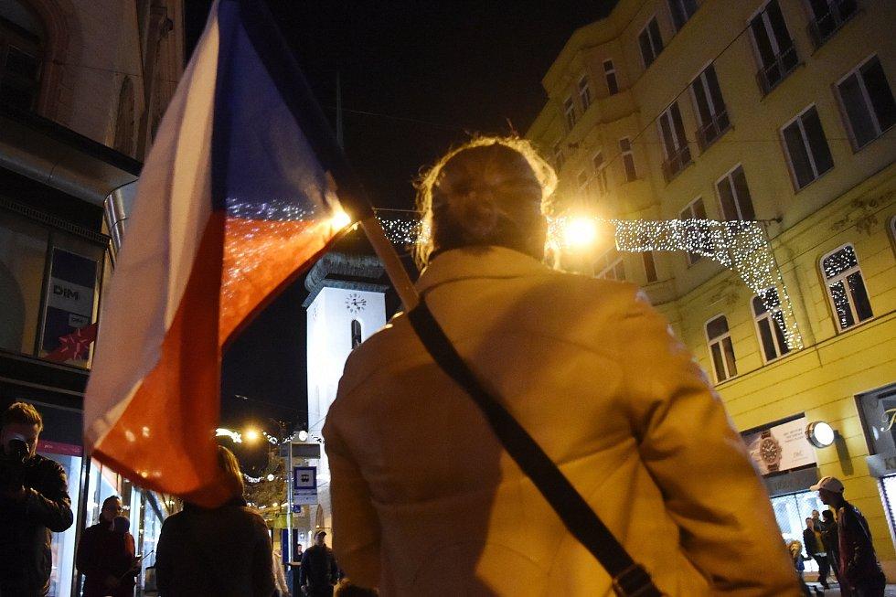 Brno 17. listopadu 2019