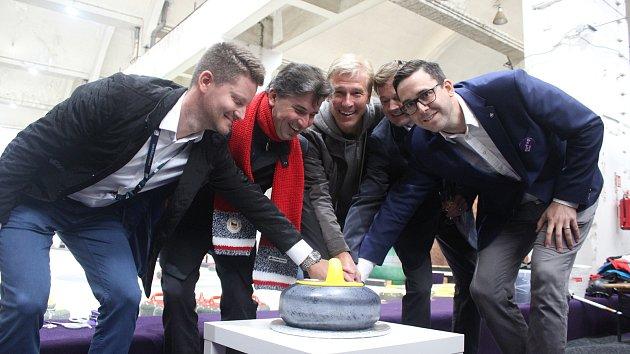 Curlingová hala v areálu Nové Zbrojovky