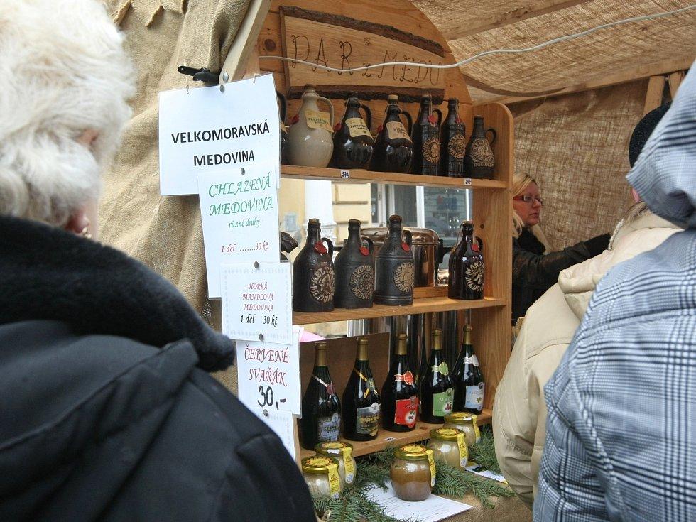 Adventní jarmark tradičních řemesel v Židlochovicích.
