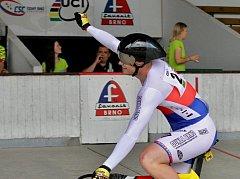Čechman ve sprintu i keirinu shodně obsadil čtvrté místo.