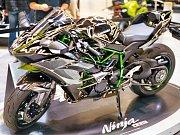 Nejsilnější a nejrychlejší sériový motocykl světa Ninja H2R.
