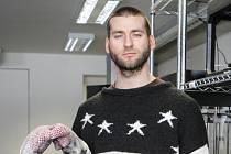 Kybersochař Adam Krhánek.