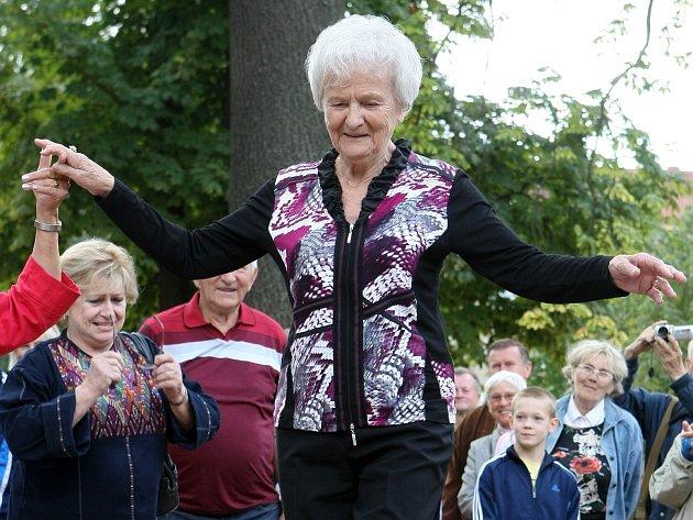 Věra Růžičková oslavila pětaosmdesáté narozeniny a zároveň pětašedesát let od zlaté olympiády v Londýně.