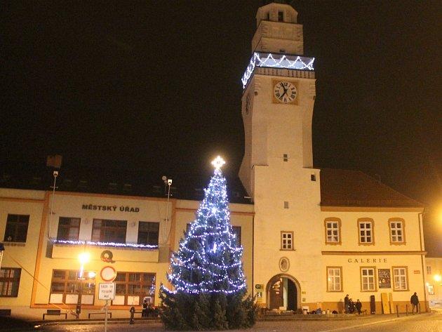 Boskovické Masarykovo náměstí.