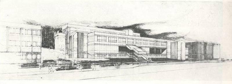 SKICA. Koncem roku 1984 začali dělníci v Blansku bourat staré domy v Hybešově ulici. Místo nich měla stát nová budova okresního výboru KSČ. Nyní tam sídlí okresní soud.