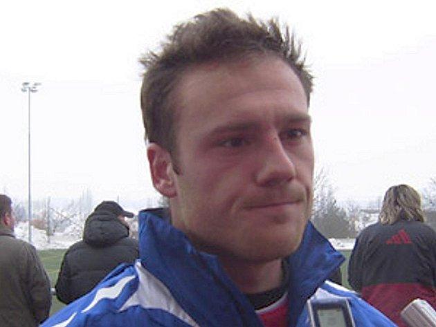 Fotbalista Michal Áč.