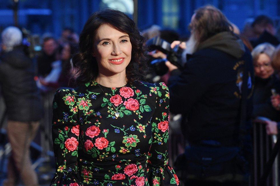 Brno 12.3.2019 - Slavnostní premiéra filmu Skleněný pokoj v brněnském univerzitním kině Scala - Carice van Houten.