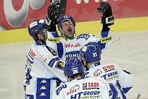 Kometa slaví první výhru, porazila Liberec 7:2.