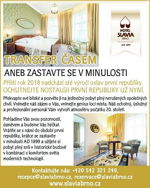 1. Hotel Slavia Brno