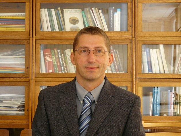 Vedoucí výzkumného projektu Jaroslav Michálek.