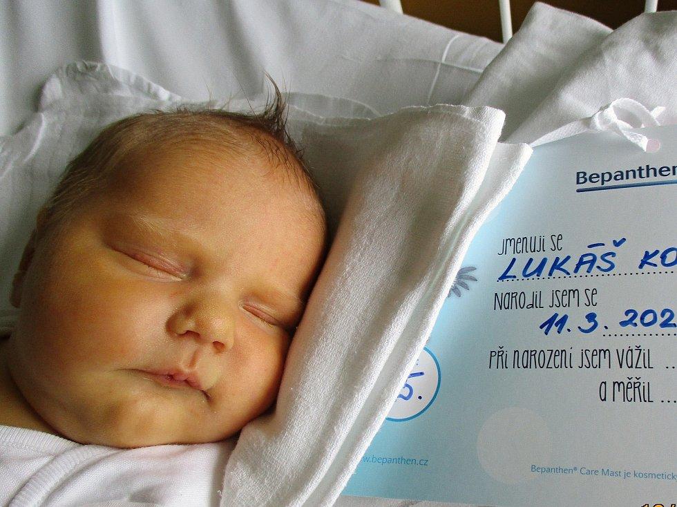 Lukáš Konečný, 11. 3. 2021, Břeclav, Nemocnice Břeclav, 4760 g, 52 cm
