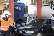 Kuriozní nehodu řešili ve středu jihomoravští hasiči.