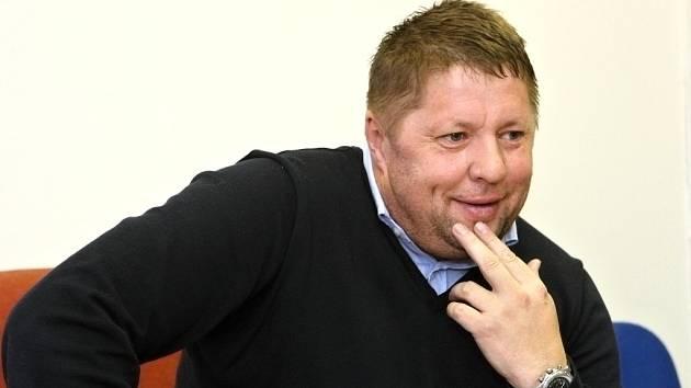 Trenér Petr Čuhel.