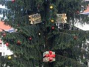 Už jen několik dní zbývá do zahájení tradičních Brněnských Vánoc. Vánoční strom se na náměstí Svobody rozsvítí v pátek.