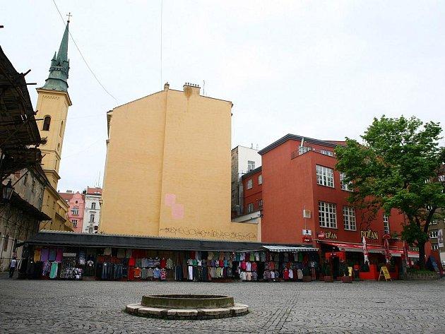 Římské náměstí v Brně.