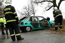 Smrtelná nehoda u Syrovic.