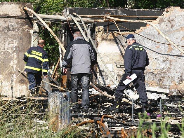 V ulici Stráň hořela ubytovna.