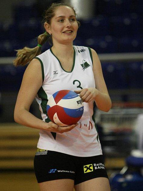 Volejbalistka KP Brno Sandra Onderková.
