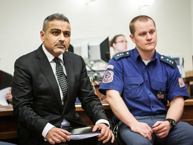 Shahram Abdullah Zadeh u Krajského soudu v Brně.