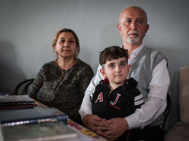Iráčtí uprchlíci, kteří našli azyl v Brně.