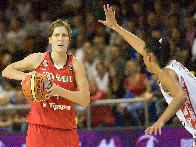 České basketbalistky podlehly hráčkám Ruska 52:55.