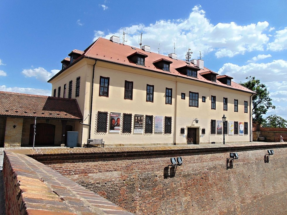 Barokní lékárna na brněnském Špilberku.
