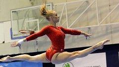 Mezinárodní závod smíšených dvojic NNa snímku Nabieva Tatiana (Rus).