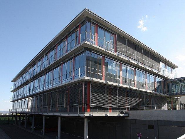 Jedna z vítězných staveb – Wernerův pavilon v Masarykově onkologickém ústavu v Brně.