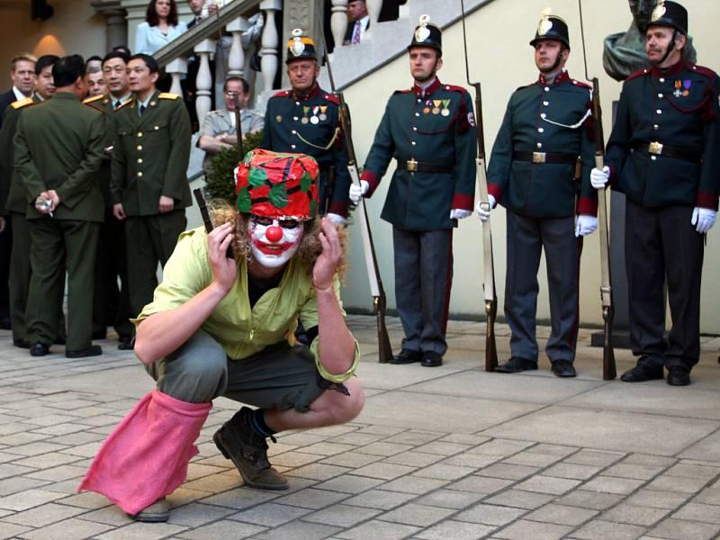 Demonstrace Klaunské rebelující armády