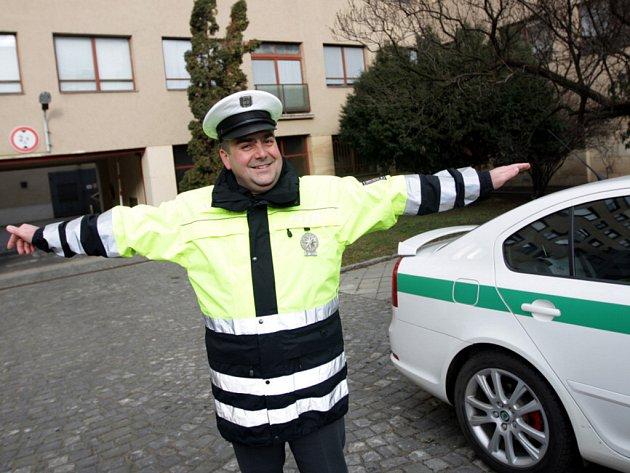 Nové uniformy dopravní policie.
