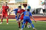 Fotbalisté Zbrojovky se přes defenzivní val Varnsdorfu neprosadili a ze severu Čech odjeli s prohrou 0:2.
