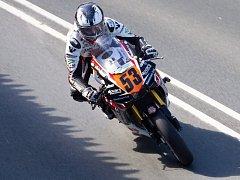 Brněnská motocyklistka Veronika Hankocyová.