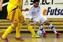 Futsalisté Tango Brno vs. Vysoké Mýto.