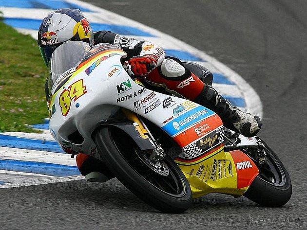 Rohatecký motocyklový závodník Jakub Kornfeil.