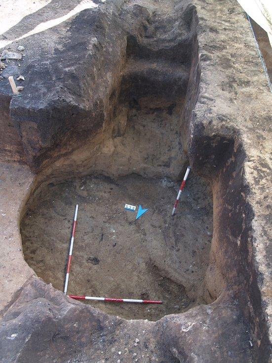 Nálezy archeologů v Židenicích.