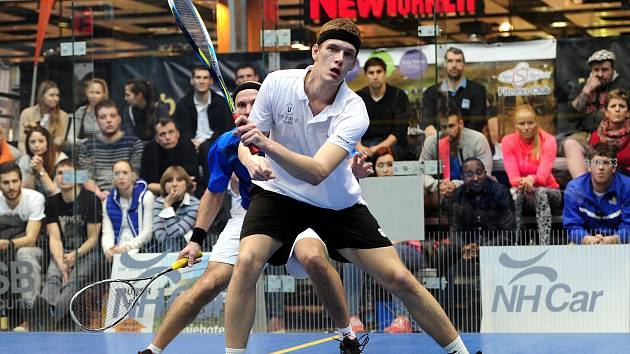 Brněnský squashista Martin Švec.