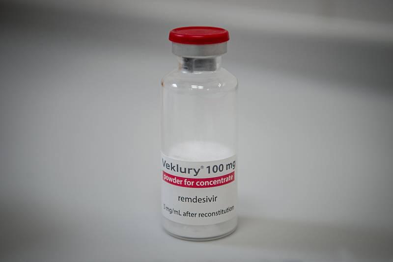 Lék remdesivir - na těžké formy nemoci covid-19.Ilustrační foto.