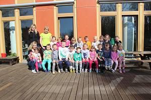 Děti z MŠ Ostopovice, třída Myšky